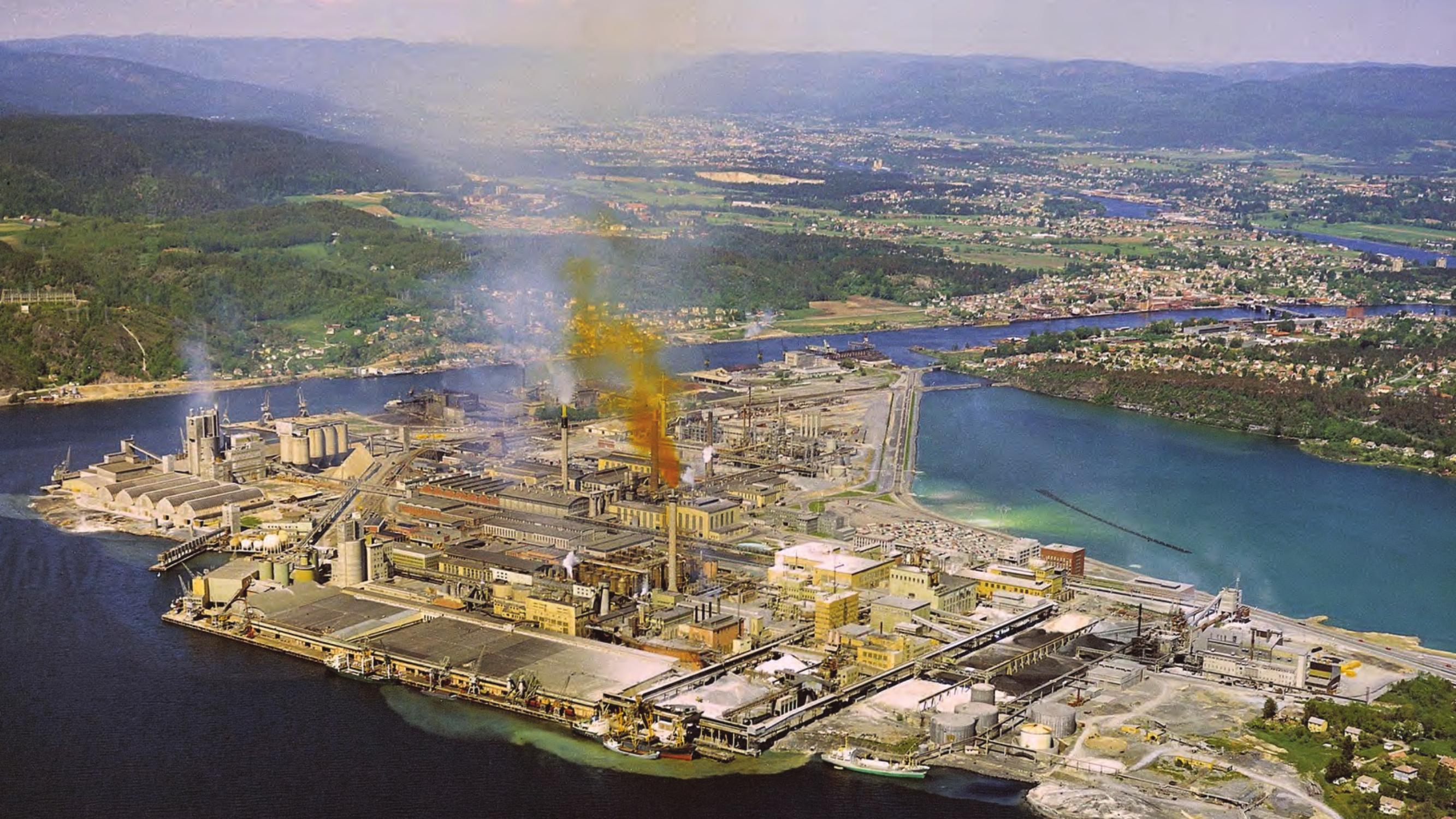 Utslipp fra Norsk Hydro på 1970-tallet